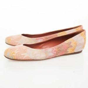 SOLD - Missoni Authentic Knit Ballet Flats